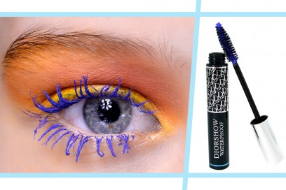 mascara bluette trucco waterproof piscina