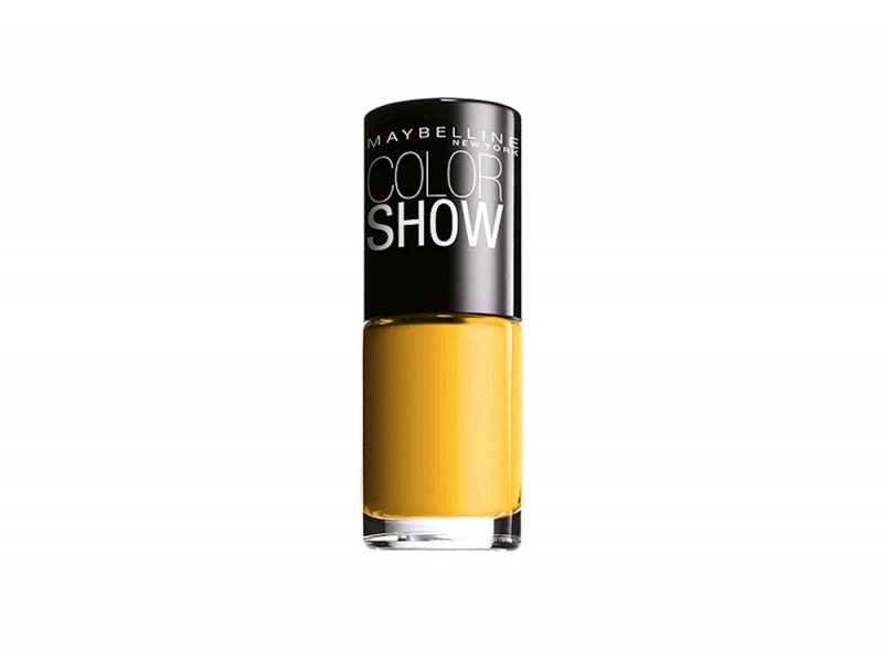 maybelline electric yellow