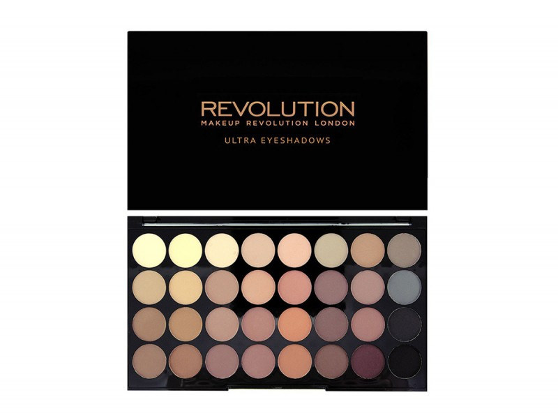palette ombretti opachi make up revolution