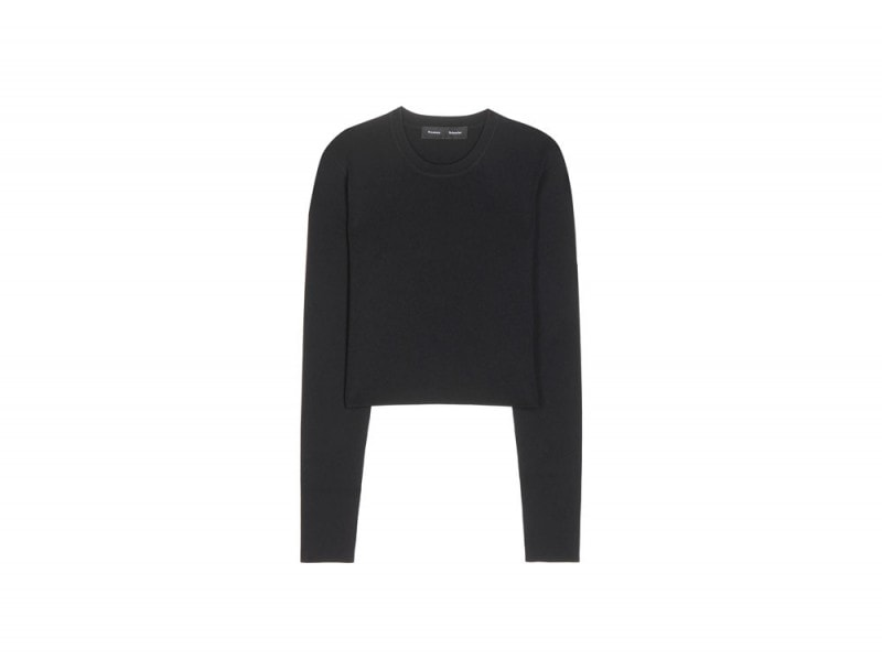 proenza-schouler-crop-top-nero