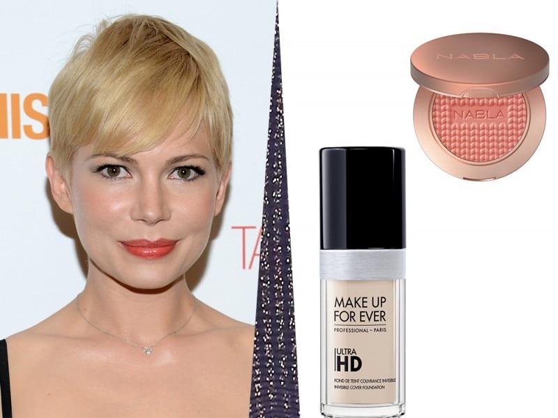 rossetto corallo pelle perfetta e blush albicocca