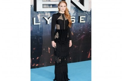 sophie turner in balmain GettyImages