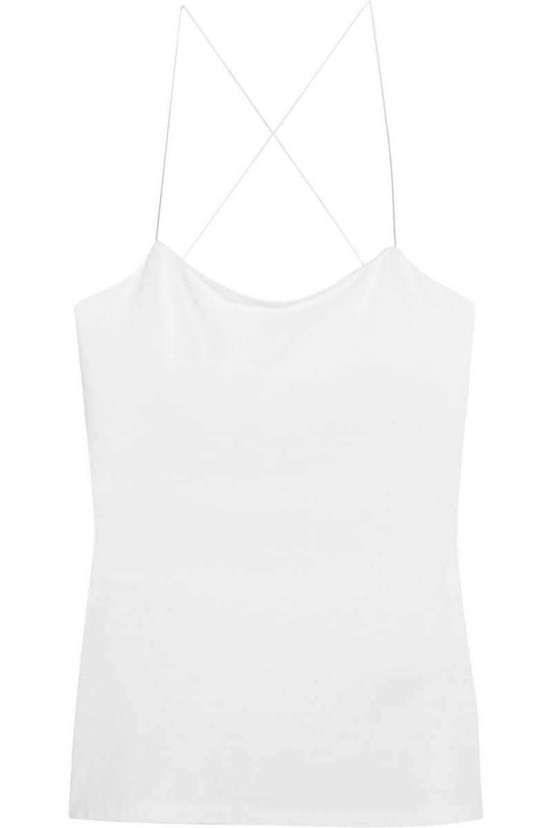 t by alexander wang top bianco