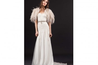 temperley-london-abito-LUCIE-DRESS-WITH-FEATHERED-CAPE-AND-BEATRICE-BELT