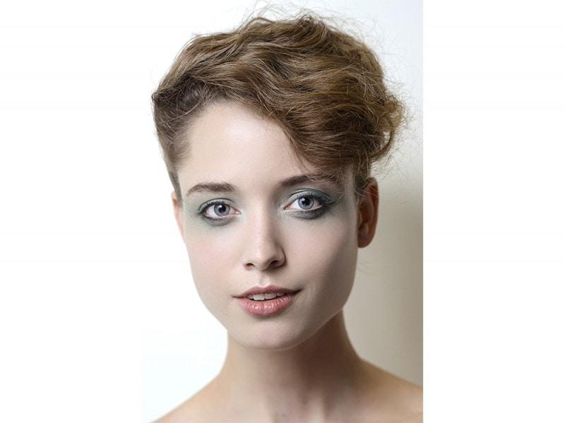 trucco-occhi-verde-sfumato-Giorgio-Armani