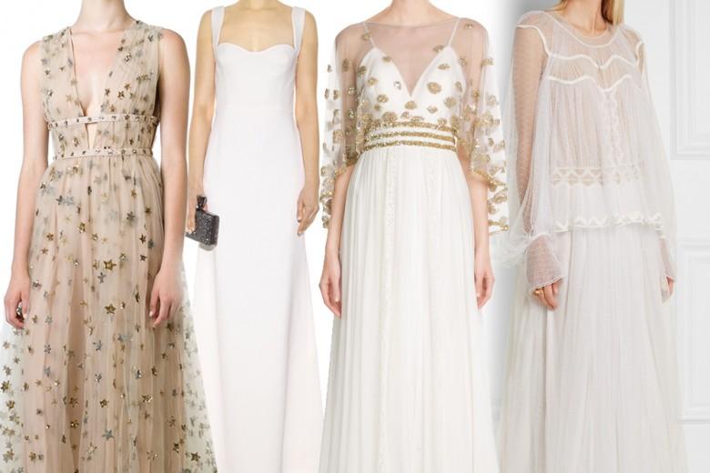 15 abiti da sera perfetti anche per sposarsi
