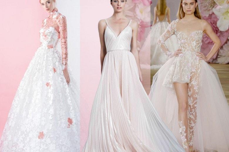 Abiti da sposa rosa per il 2017