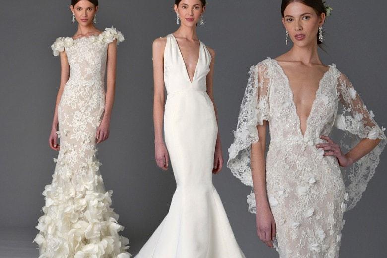 Abiti da sposa Marchesa: i modelli per la primavera 2017