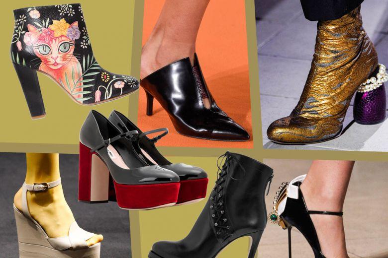 Le scarpe per l'Autunno-Inverno 2016/17