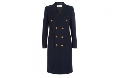 SAINT-LAURENT-cappotto-blu-navy