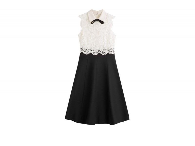 abito-valentino-pizzo-bianco-nero