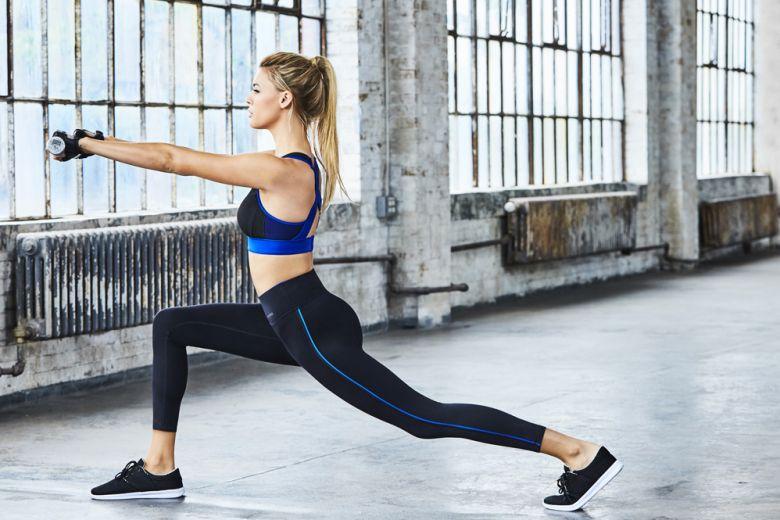 Kelly Rohrbach è il volto della linea fitness di Calzedonia
