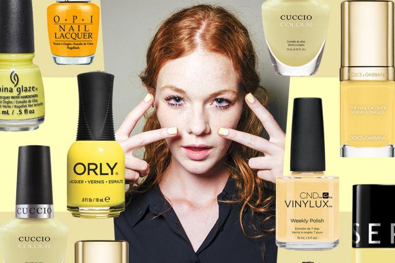 Smalto giallo: il sole sulle unghie