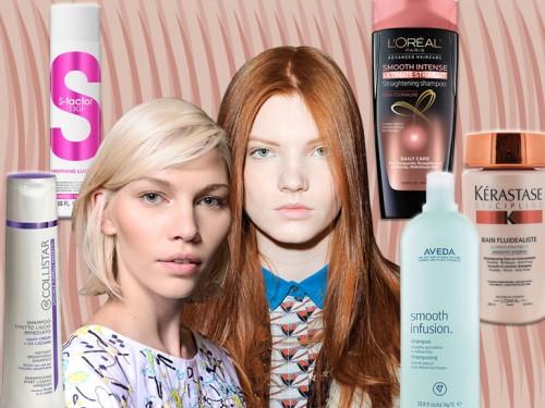 Shampoo professionale per capelli lisci