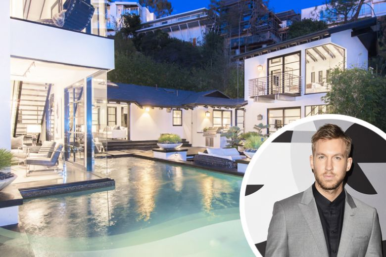 La casa di Calvin Harris a Los Angeles