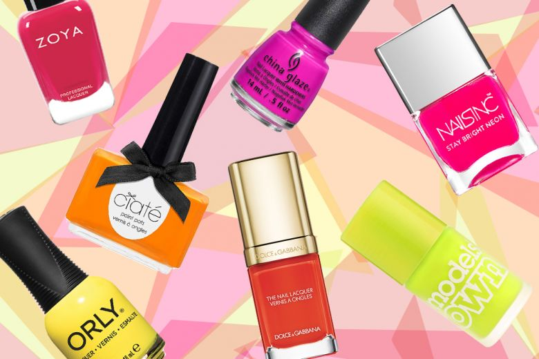 Smalti neon: i colori che accendono le unghie
