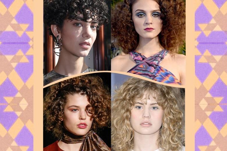 Tagli capelli ricci: le acconciature più belle dell'Autunno-Inverno