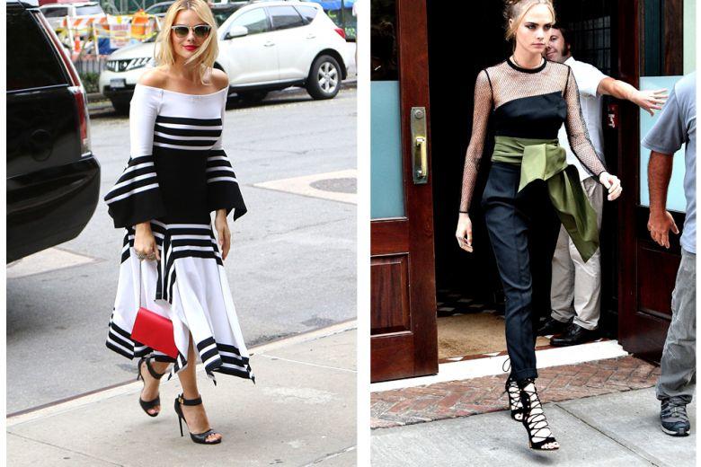 Le best dressed della settimana: da Cara Delevingne a Margot Robbie