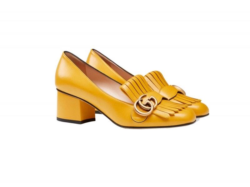 gucci-scarpe-tacco-medio-gialle