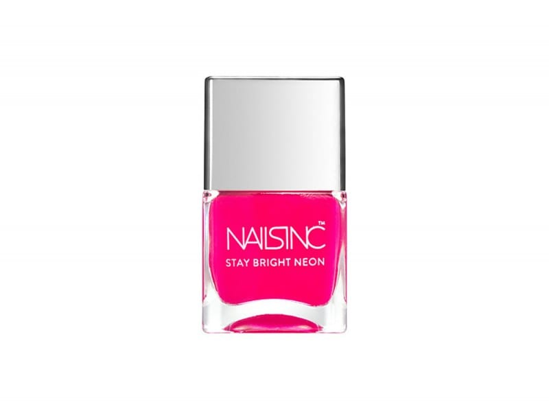nails inc stay bright neon