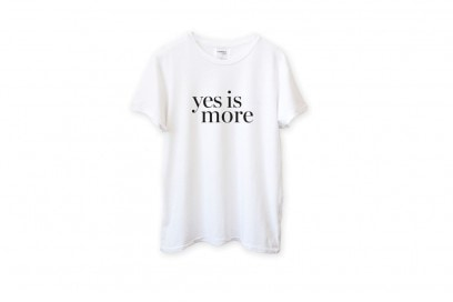 tshirt-yes-is-more