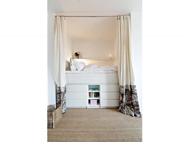 Come arredare una casa piccola 15 idee da copiare subito - Arredare una camera da letto piccola ...