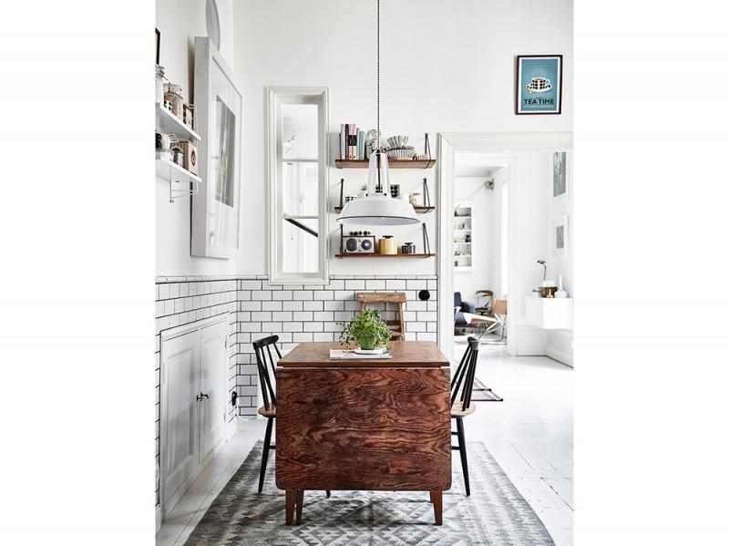 Come arredare una casa piccola 15 idee da copiare subito - Tavolo per cucina piccola ...