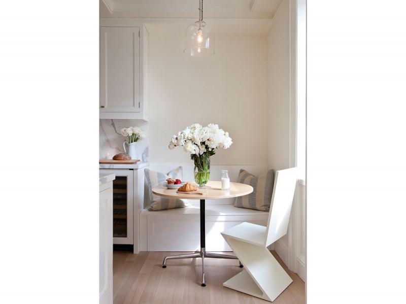 Come arredare una casa piccola 15 idee da copiare subito - Arredare cucina soggiorno piccola ...