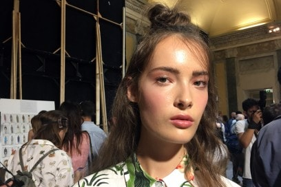 Stella Jean Primavera/Estate 2017: il beauty look è sporty