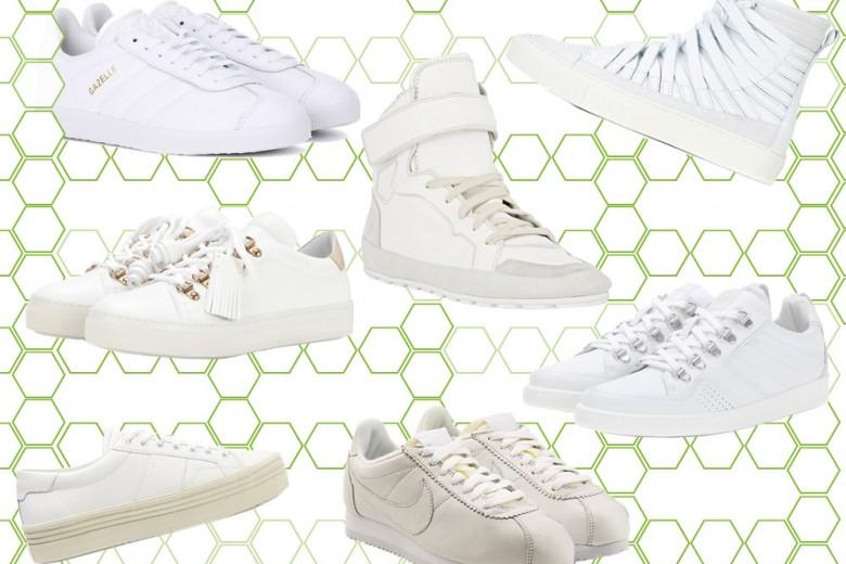 Sneakers bianche: tutte le novità dell'autunno 2016