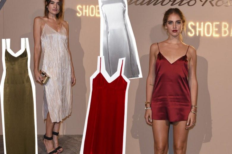 Slipdress: è ancora l'abito più amato dalle trendsetter
