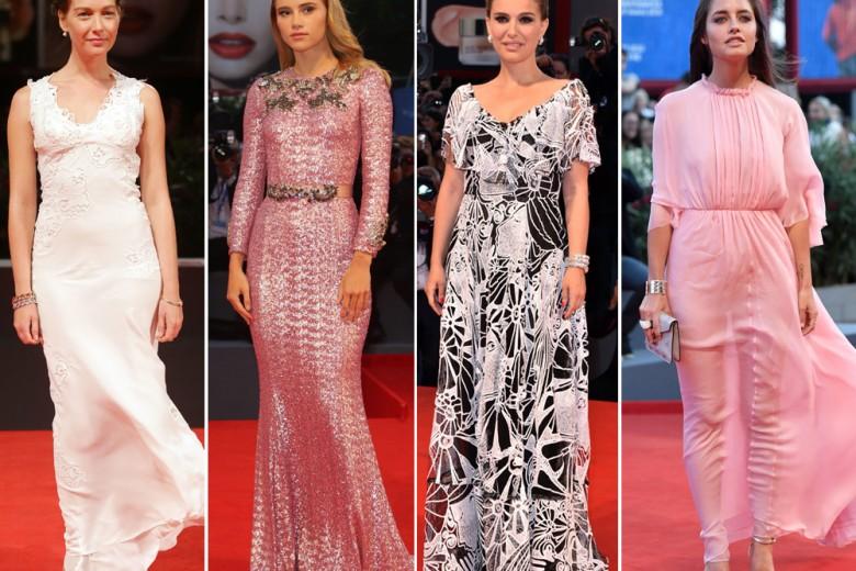 Tutti gli abiti delle star alla Mostra del cinema di Venezia