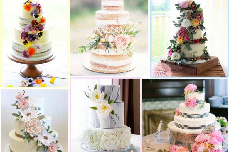 Wedding cake: le idee più belle da Instagram