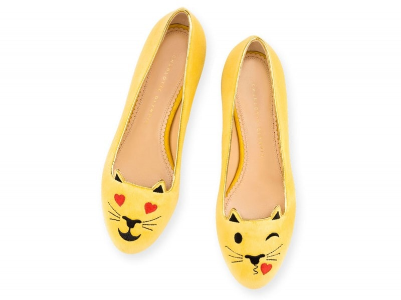 Charlotte-Olympia-emoticats-gialle