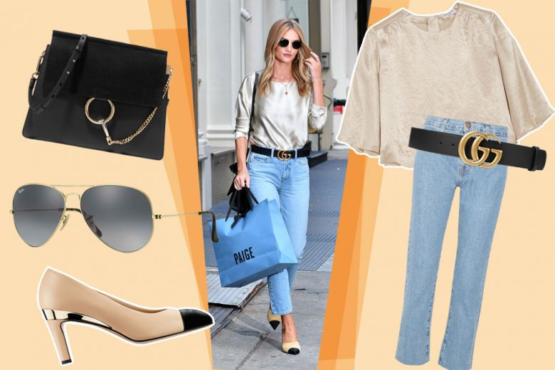 Easy look da weekend come Rosie Huntington-Whiteley