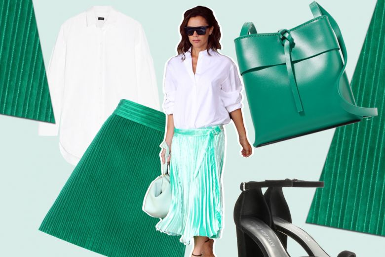 Easy look da weekend come Victoria Beckham