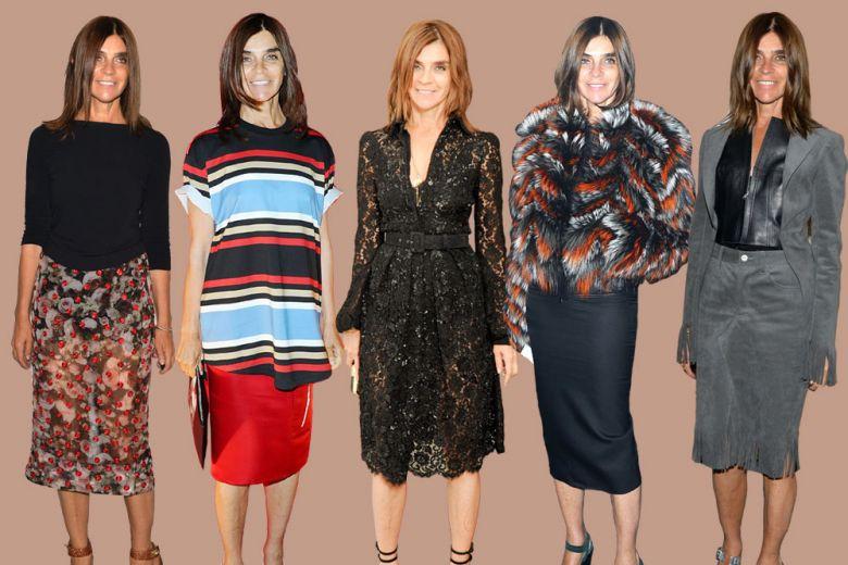 Carine Roitfeld: i look dell'icona di stile francese