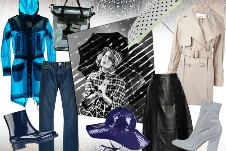 Come vestirsi quando piove: i look per l'autunno