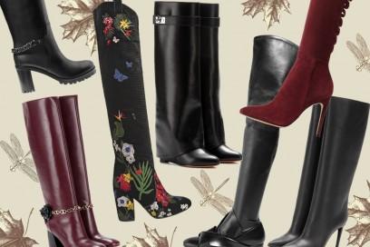 Stivali con tacco: i modelli must-have per l'Autunno-Inverno 2016/17