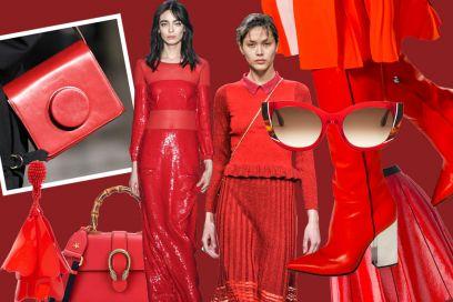 Rosso: la tendenza hot per l'Autunno-Inverno 2016