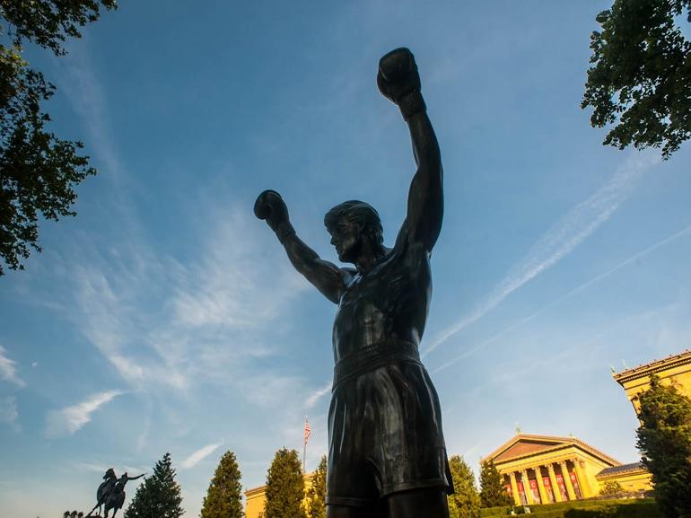 Rocky-Philadelphia-allenamento-scalinata-Museo-arte