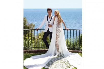 campagna-dress_-ATELIER-PRONOVIAS-2017_Romee-Strijd-&-Jon-Kortajarena_color