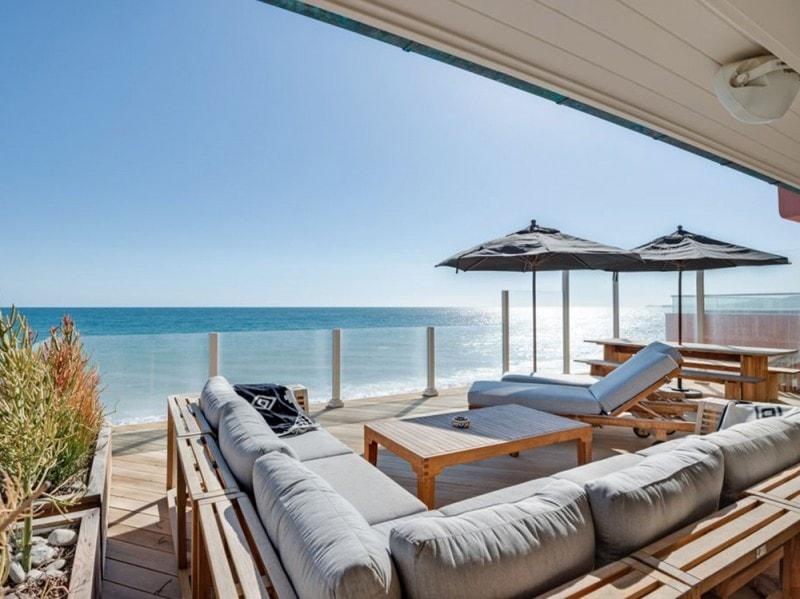La casa di leonardo dicaprio a malibu grazia for Piani di casa sulla spiaggia su palafitte