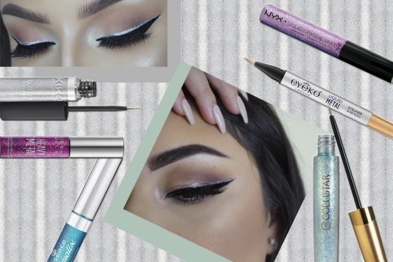 I migliori eyeliner glitter da provare adesso