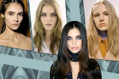 Capelli con riga centrale: l'hair trend dell'autunno/inverno 2016
