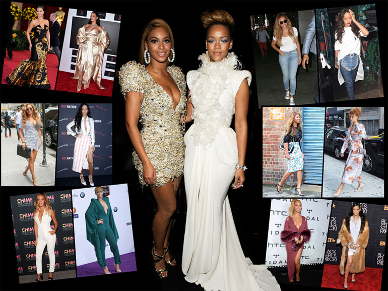 cover beyonce vs rihanna look mobile
