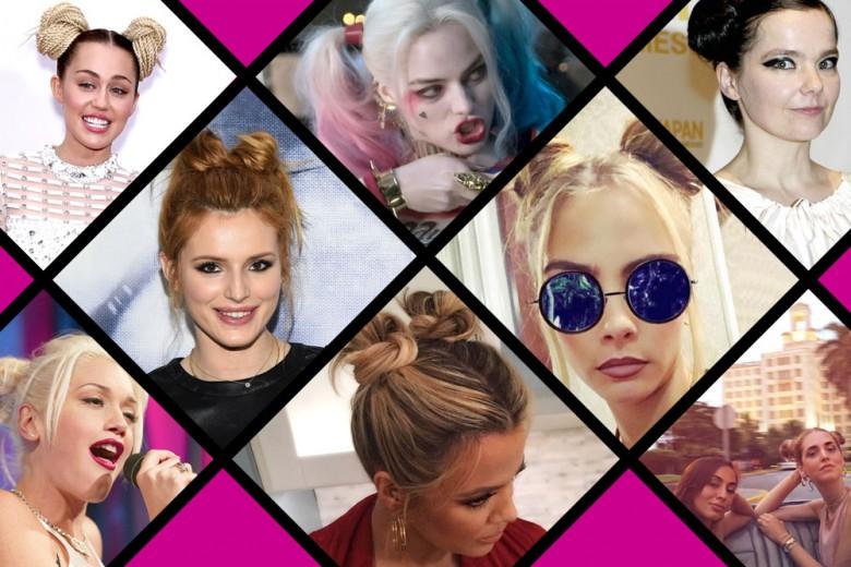 Double bun: il trend capelli che piace alle star