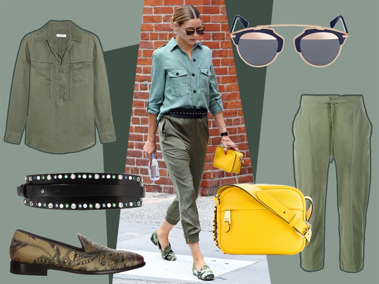 cover easy look da weekend come olivia palermo mobile