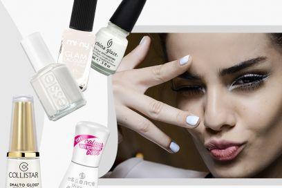Smalto bianco: per una manicure candida
