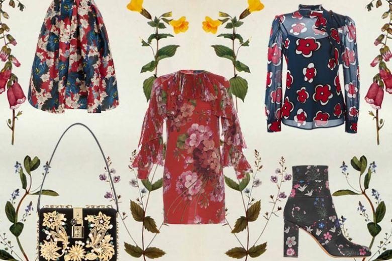 Stampa a fiori: i capi e gli accessori must-have per l'Autunno-Inverno 2015